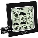 La Crosse Technology Weather Direct WD-3105U-BK 4 Day Internet Powered Wireless Forecaster - Black
