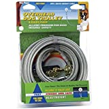 Four Paws Silver Heavy Weight 100 Foot Dog Trolley Exerciser