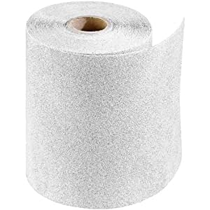PORTER-CABLE 740000801 4 1/2-Inch x 10yd 80 Grit Adhesive-Backed Sanding Roll
