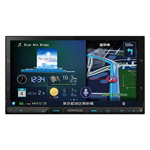 KENWOOD DVD/USB/SD AV ナビゲーションシステム MDV-X702