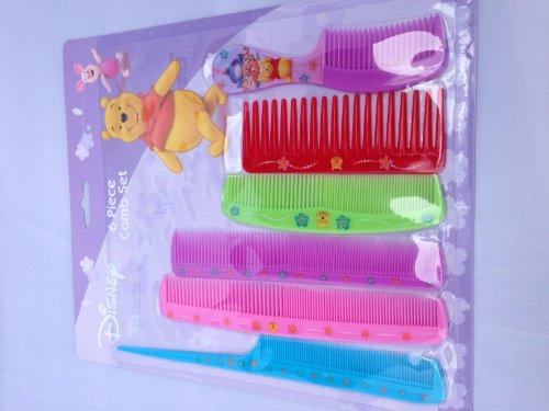 Disney Winnie the Pooh 6 Piece Comb Set
