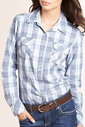 Autograph Weekend Pure Cotton Check Shirt [T50-1699A-S-LCTB]
