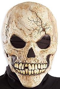 Erwachsene Schädel Skelett Halloween Maske Vinyl