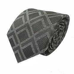 Rossini Men's Tie (UFAM05_Green_Free Size)