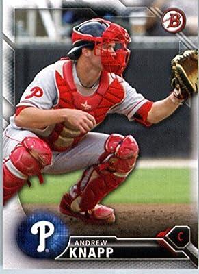 2016 Bowman Prospects #BP129 Andrew Knapp Philadelphia Phillies Baseball Card
