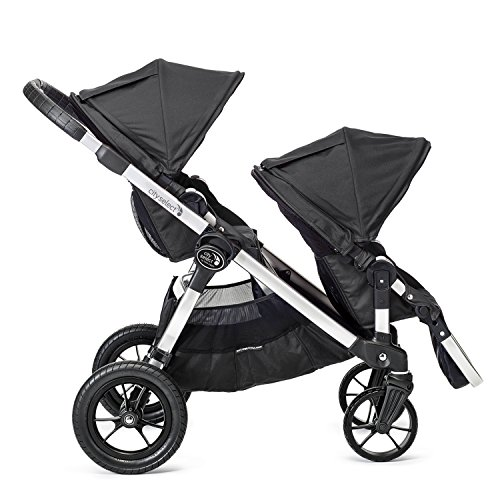 Baby Jogger City Select Second Seat Kit with Silver Frame, Onyx