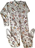 Babies Nursery print footie jammies in size 2XLarge