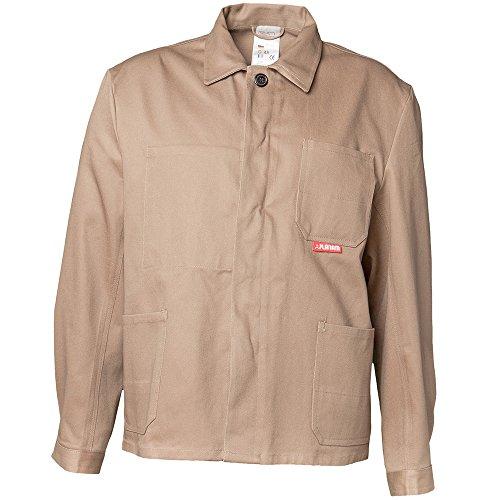 Planham 150024-Giacca da lavoro, colore Kaki, Beige, 150046