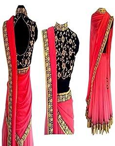 Exclusive pink lahenga choli