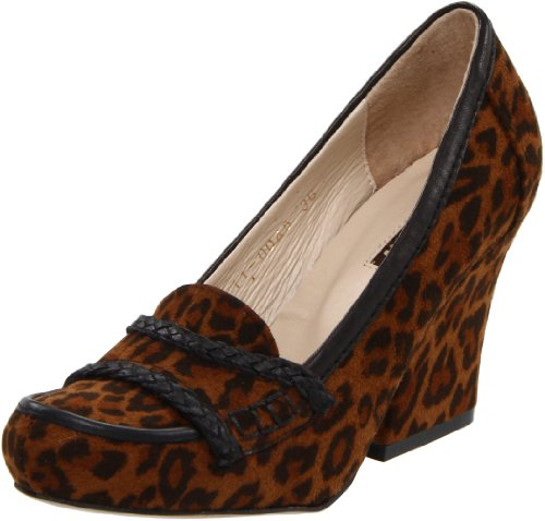 ALL BLACK Women's Fab Pump,Leopard,36 EU/5.5 M US