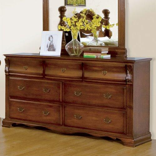 bedroom dressers homelegance cannonvale dresser