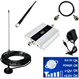 Asunflower® LCD GSM 900mhz Mobile Cell Phone Signal Booster Cellular Repeater Antenna Amplifier for Indoors,Home and Office,up to 150-200 Square
