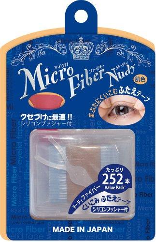 ビーエヌ BN マイクロファイバーヌーディ ふたえテープ 二重まぶた化粧品 自然になじむ肌色 ファイバー MCFーV2