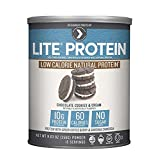 Designer Protein LITE, Low Calorie Natural Protein, Chocolate Cookies and Cream, 9.03 oz (Pack of 2)
