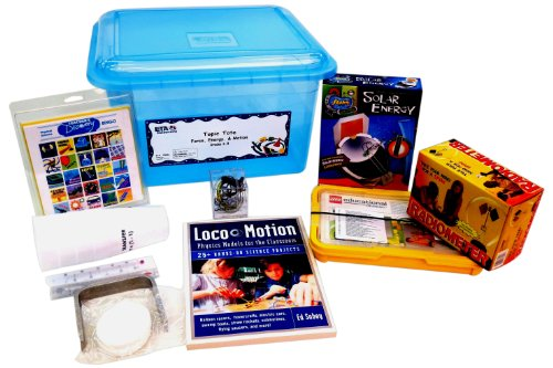 Eta Hand2Mind Science Topic Tote: Force, Energy & Motion (Grades 6-8)