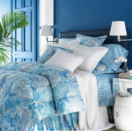 Lauren by Ralph Lauren Bedding Jamaica Blue Paisley