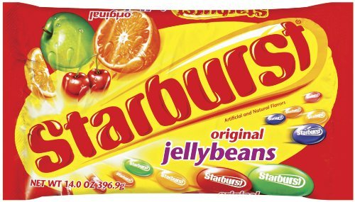 Starburst Original Jelly Bean Bag, 14-Ounce (Pack of 6) (Tropical Starburst Jelly Beans compare prices)