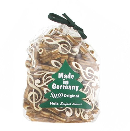 Streupotpourri-aus-Pappelholz-Violinschlssel-Notenschlssel-Schnes-Geschenk-fr-Musiker