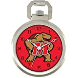 NCAA Men's COL-PW-MD Pocket Collection Maryland Terrapins Pocket Watch