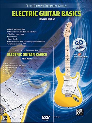 Ultimate Beginner Electric Guitar Basics Mega Pak (Book, Cd & Dvd)