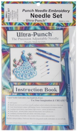 Best Prices! Ultra Punch Small Needle Embroidery Set + Threader