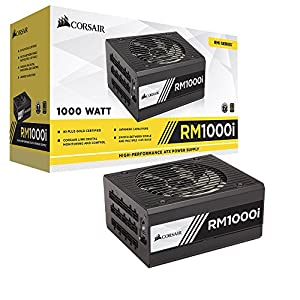 Corsair (CP-9020084-UK) RMi Series RM1000i ATX/EPS Fully Modular 80 PLUS Gold 1000W Power Supply Unit UK