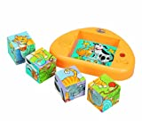 Small World Toys IQ Preschool Hear and Now Cubes--Pets
