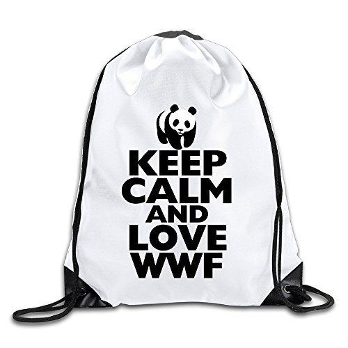 runy-custom-keep-calm-and-love-wwf-adjustable-string-gym-backpack-white