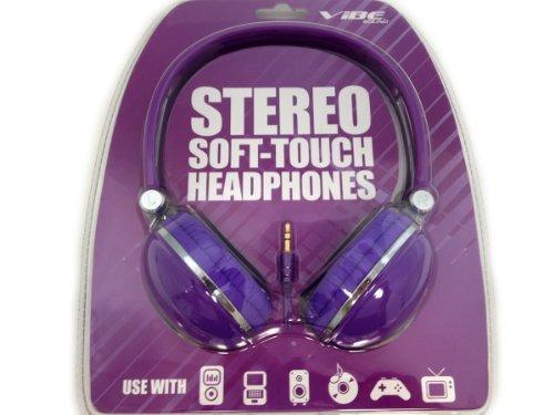 Vibe Vs-830-Dj-Prp Soft Touch Headphones