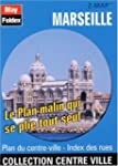 Plan de centre-ville : Marseille (ave...