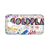 Band Coldplay 3D Hard Plastic Back Case Cover for Samsung Galaxy S4 Mini-TOC-09064