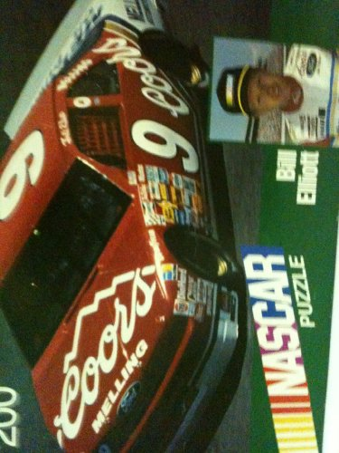 200 Piece Nascar Puzzle Bill Elliott, 12 1/8 X 16 Inches