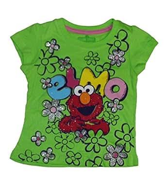 Amazon Sesame Street Elmo Little Girls Toddler Short