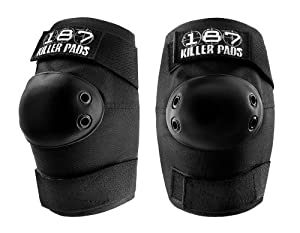 187 Killer Elbow Pads - Black by 187