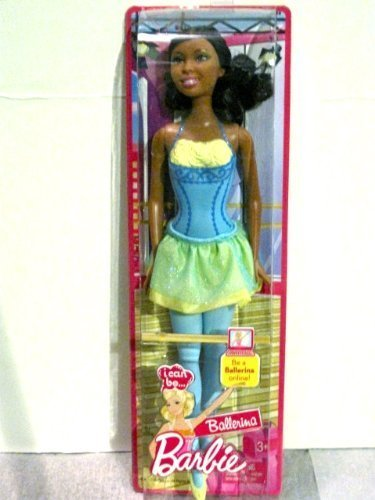 BARBIE I Can Be Ballerina African-American by MATTEL (English Manual)