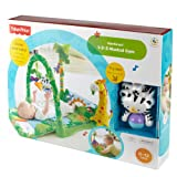 Fisher-Price Fisher Price Rainforest 1-2-3 Musical Gym From Debenhams