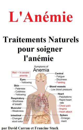 Couverture du livre L'Anémie : Traitements Naturels pour soigner l'anémie