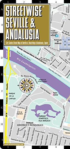 Streetwise Seville Map - Laminated City Center Street Map of Seville, Spain (Streetwise (Streetwise Maps))