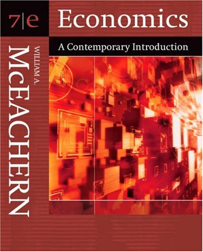 Economics: A Contemporary Introduction (with InfoTrac)