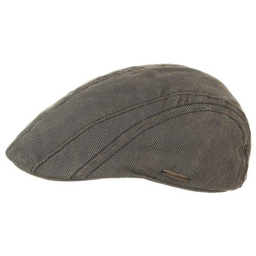 casquette-manatee-herringbone-stetson-bonnet-avec-visiere-casquette-pour-lzhiver-l-58-59-marron