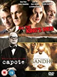 Capote/All The King's Men/Gandhi [DVD] [1982] - Steve Zaillain