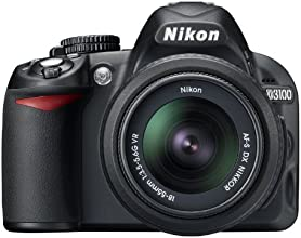 Nikon D3100 DSLR Camera with 18-55mm f/3.5-5.6 AF-S Nikkor Zoom Lens (Discontinued by Manufacturer)