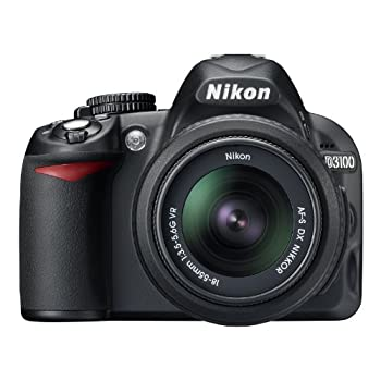 Set A Shopping Price Drop Alert For Nikon D3100 14.2MP Digital SLR Camera with 18-55mm f/3.5-5.6 AF-S DX VR Nikkor Zoom Lens