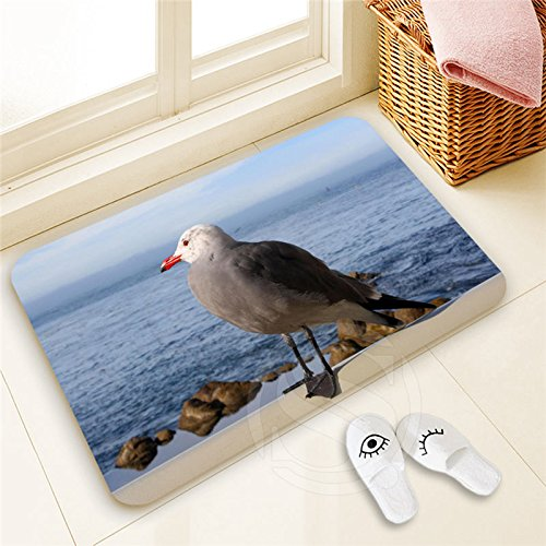 H-P985 Custom Seagull#12 Doormat Home Decor Pattern Door mat Floor Mat foot pad SQ00806#H0985