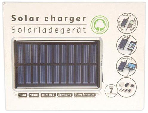 Unbekannt Solar Ladegerät Handy Mini USB Solarladegerät Handyladegerät Solarpanel