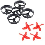 Crazepony-4pcs-Propellers-Red-and-Tiny-Whoop-Eachine-E010-RC-Quadcopter-Frame