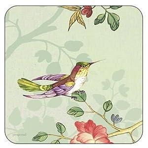 Pimpernel Indian Rose Coasters - Set of 6