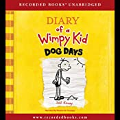 Diary of a Wimpy Kid: Dog Days Audiobook