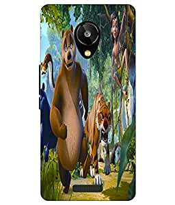 Snazzy Printed Back Cover for LAVA X1 Selfie