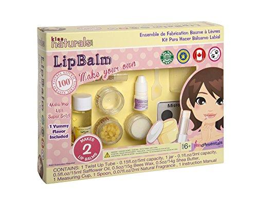 Kiss Naturals DIY Mini Lip Balm Making Kit